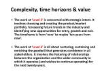 complexity time horizons value2
