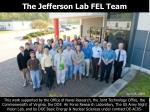 the jefferson lab fel team