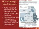 hiv mapping in san francisco