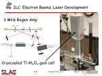 ilc electron beams laser development2