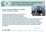 eucalyptus participatory design studio grid using uclp and soa