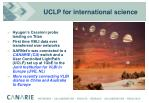 uclp for international science