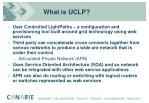 what is uclp
