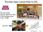 excimer laser convertible to co 2