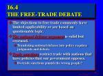 16 4 the free trade debate