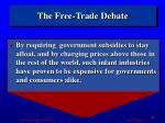 the free trade debate4