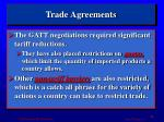 trade agreements1