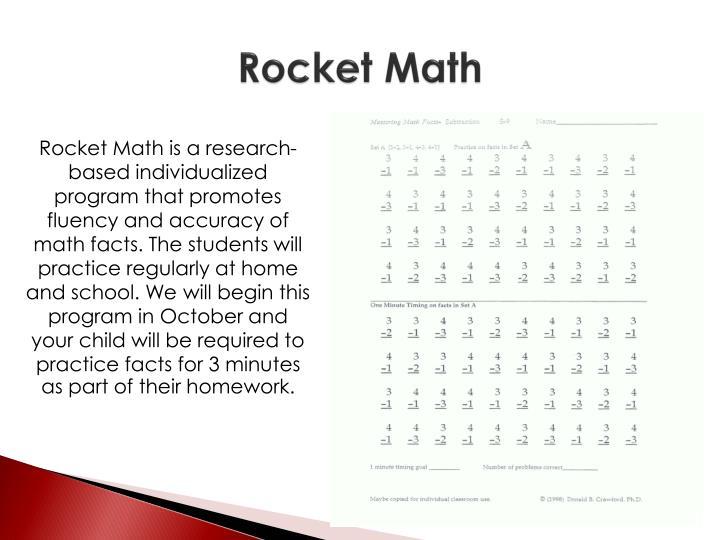 Rocket Math