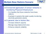 multiple base stations scenario