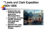 lewis and clark expedition 1804 1806
