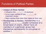 functions of political parties2