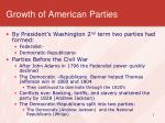 growth of american parties1