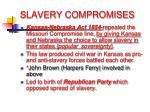 slavery compromises2