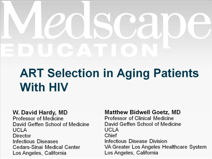 art selection in aging patients with hiv n.