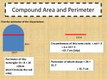 compound area and perimeter1