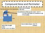 compound area and perimeter3