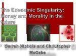 the economic singularity money and morality in the future