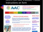 ceu s from aac institute follow instructions on form