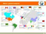 metris global footprint