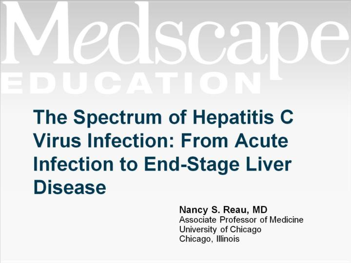 the spectrum of hepatitis c virus infection from acute infection to end stage liver disease n.