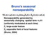 bruno s seasonal nonseparability
