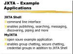 jxta example applications