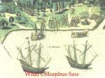 what columbus saw