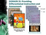 domain ii providing differentiated instruction and assessment