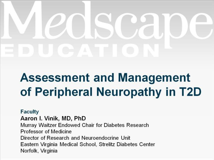 assessment and management of peripheral neuropathy in t2d n.