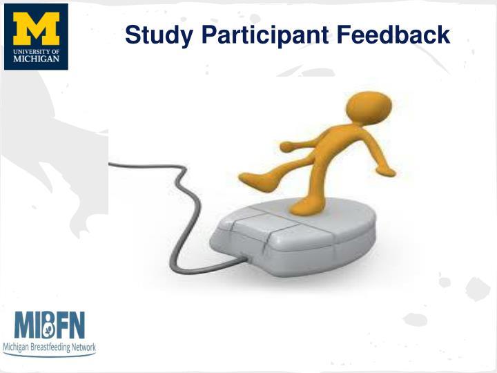 Study Participant