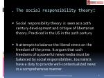 the social responsibility theory