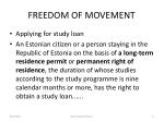 freedom of movement4