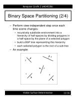 binary space partitioning 2 4