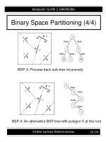 binary space partitioning 4 4