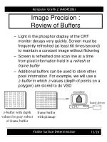 image precision review of buffers