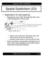 spatial subdivision 2 2
