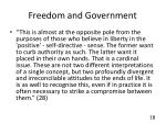 freedom and government1