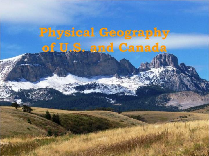 physical geography of u s and canada n.
