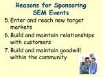 reasons for sponsoring sem events1