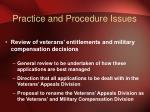 practice and procedure issues2