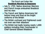 the french and indian war braddock marches to duquesne1