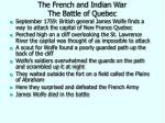 the french and indian war the battle of quebec