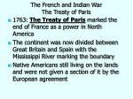 the french and indian war the treaty of paris1