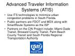 advanced traveler information systems atis