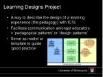 learning designs project