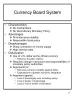 currency board system