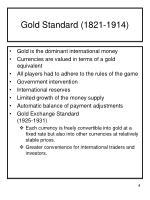 gold standard 1821 1914