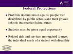 federal protections