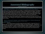 annotated bibliography continued susan moore1