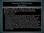 annotated bibliography erin fitze1